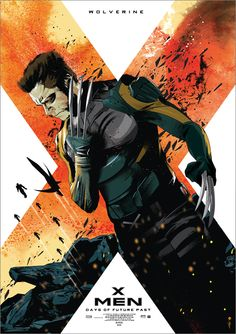 X-Men: Days Of Future Past -Movie poster,©Marvel. - by Shogun