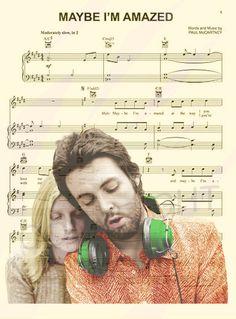 Paul and Linda McCartney Art Print by AmourPrints on Etsy