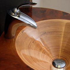 Gemini sink designer ideas bathroom furniture wood manufacturer The post Gemini Sink Designer Ideas Bathroom Furniture Wood H … appeared first on Best Pins for Yours - Bathroom Decoration Wooden Bathtub, Wooden Bathroom, Bathroom Basin, Bathroom Fixtures, Bathroom Furniture, Wooden Kitchen, Sink Design, Wood Design, Wood Sink