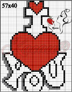 Most up-to-date Absolutely Free Cross Stitch love Suggestions Because I am crossstitching sewing because I had been a female I actually often assume that anyone previously Graph Paper Drawings, Graph Paper Art, Pixel Art Animals, Cross Stitching, Cross Stitch Embroidery, Beaded Cross Stitch, Cross Stitch Designs, Cross Stitch Patterns, Easy Pixel Art