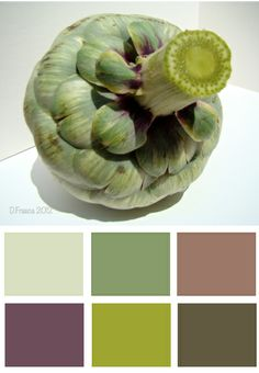 Color Recipes©: Choking out beige with Artichokes
