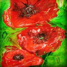 """Mohnblumen"" - Jeannette Keller-Wind"