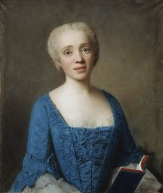 Portrait of Marie-Rose , 1750 by Jean Etienne Liotard, Detroit Institute of Arts Historical Costume, Historical Clothing, Portraits Pastel, Rococo Fashion, 18th Century Fashion, Reproduction, Female Portrait, Marie Antoinette, Fashion History