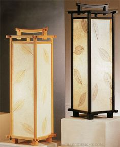 japanese inspired lights table lamp brings an exquisite style, wonderful soft lighting . Lamp Design, Lamp, Wooden Lamp, Table Lamp Shades, Japanese Table, Lantern Designs, Decorative Table Lamps, Wooden Lanterns, Japanese Lamps