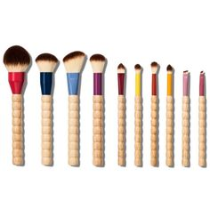 Supply Your Beauty Arsenal With These 12 Gorgeous Brush Sets Sonia Kashuk Limited Edition Beaded Makeup Brush Set Cheap Makeup Brushes Set, How To Wash Makeup Brushes, Eye Makeup Brushes, Makeup Tools, Makeup Tutorials, Makeup Brush Cleaner, Makeup Brush Set, Best Brush Sets, Lace Makeup