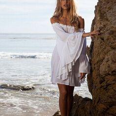 Summer Boho Short Mini Beach Dress    https://zenyogahub.com/collections/clothing/products/summer-boho-short-mini-beach-dress