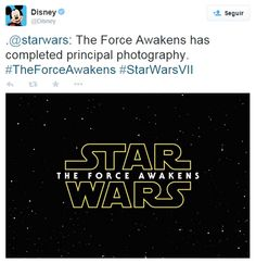 Ya tiene subtitulo la próxima película de Star Wars Episodio VII:  The Force Awakens!