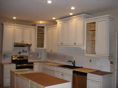kitchen cabinets for 7 foot ceilings 36 quot cabinets with 6 quot stacked molding 8 foot 20382