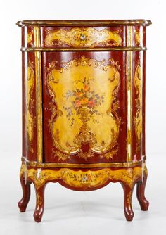 19th century French gilt commode  Marquetry   pinnated  a  and  **+