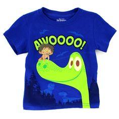 Disney Pixar The Good Dinosaur Boys Short Sleeve Tee. FREE SHIPPING! www.YankeeToyBox.com #YankeeToyBox #FunStartsHere #Disney #Pixar #GoodDinosaur