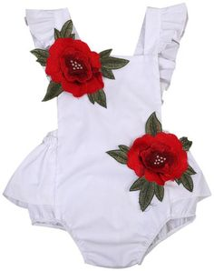 SALE 70% OFF + FREE SHIPPING! SHOP Our Floral Backless Romper for Baby & Toddler Girls