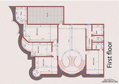 نموذج لمخططات فلة  (20متر*26متر) عمل لمكتب المهندس المعماري محمد فريد عبود