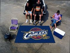 """The Cleveland Cavaliers NBA Ulti-Mat 60""""x96"""" Rug and Tailgating Mat"""