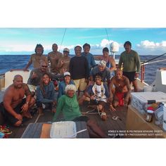 On the morning of August 21, 2014, Hōkūleʻa and Hikianalia arrived in Pago Pago, American Samoa, the last port of this leg in the Mālama Honua Worldwide Voyage sponsored by Hawaiian Airlines. During the 9-day journey from Aitutaki, Cook Islands, the crews were challenged with varying weather conditions such as light winds and passing squalls. Fortunately, the crews were also blessed with several catches of mahimahi. #Hokulea #MalamaHonua #WorldwideVoyage Photo @OiwiTV.