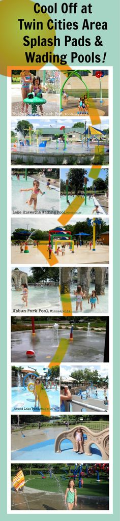 If you're looking for a few new places to cool off this summer, we've put together a master list of all the Twin Cities Metro-area splash pads we could find. The pads are organized by region for your convenience and nearly all are free of charge (except where noted)