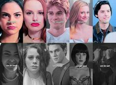 Riverdale: Veronica, Cheryl, Archie, Betty and Jughead Kj Apa Riverdale, Riverdale Quotes, Riverdale Funny, Riverdale Cheryl, Riverdale Archie And Betty, Riverdale Book, Riverdale Comics, Riverdale Poster, Riverdale Betty And Jughead