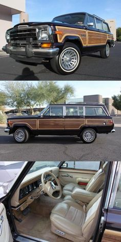 well serviced 1990 Jeep Grand Wagoneer offroad for sale Jeep Wagoneer, Jeep Xj, Jeep Cars, Vintage Jeep, Vintage Cars, Home Wine Cellars, Future Transportation, Military Jeep, Jeep Commander