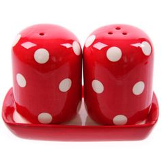 Polka Dot Salt N Pepper