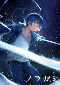 Noragami || Yato God :3 read my top 10 anime males here: http://www.animedecoy.com/2015/08/top-10-male-anime-characters.html ノラガミ Art by Mimi: http://futarinokizuna.deviantart.com/