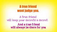 True friends keep it real