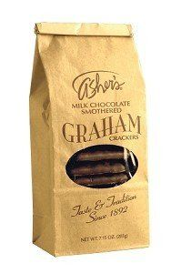 Ashers Milk Chocolate Graham Crackers 7.15 Ounce « Blast Grocery