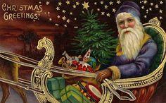Vintage Santa Santa Claus, St. Nick, Father Christmas
