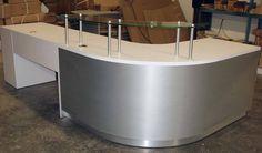 Solid Surface Reception Desk TW-MART-063