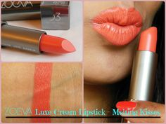 Zoeva Luxe Cream Lipstick: Melting Kisses 03 Review, Swatch, LOTD