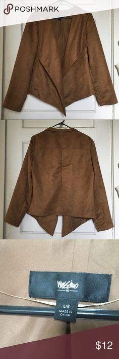 Mossimo Faux Suede Blazer Professional and comfortable fall season blazer  Mossimo Supply Co. Jackets & Coats Blazers