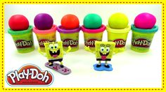Learn Colors Play Doh Fun Spongebob Squarepants Episodes Compilation Nur...