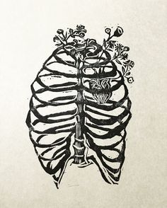 Caged Heart. Heart is a wild creature thats why our Ribs are cages.