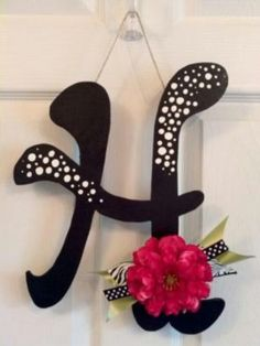 Blinged door hanger