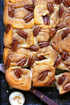 Sticky pecan rolls are a tradition in my family, a holiday classic we enjoy sharing around the table at Thanksgiving and Christmas with one unspoken rule – leftover rolls always become breakf…