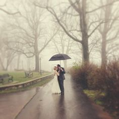 Spring showers! #realweddings (Submitted by Tommy Siniard)