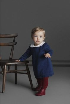 La Coqueta is a Spanish children's designer clothing boutique in London that offers high quality Spanish baby clothes. Little Fashion, Baby Girl Fashion, Fashion Kids, Toddler Fashion, Fashion Wear, Winter Fashion, Outfits Niños, Baby Outfits, Baby Kind