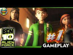 Ben 10: Alien Force Walkthrough Part 1 #PSP
