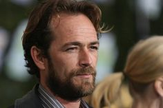 """Now: Luke Perry  Since ending his stint on """"Beverly Hills, 90210"""" in 2000, Luke Perry has appeared in several television shows and movies. He has also done voice-over work for various animated series such as """"The Simpsons"""" and """"Johnny Bravo."""" —XFINITY Entertainment Staff (Photo by Mark Davis/Getty Images)"""