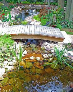 Gorgeous Backyard Ponds and Water Garden Landscaping Ideas (65)  #LandscapingIdeas