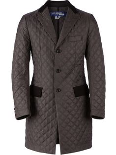 Junya Watanabe Comme Des Garçons Man panelled quilted coat in L'Eclaireur