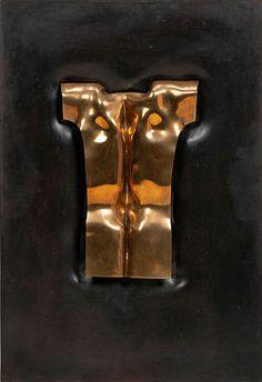 """Ryggen til Bjørneboe"" 1977 Bronse på patinert bronse, 59 x 40 x 6 cm Signert og datert nede til høyre: S 77 Door Handles, Fine Art, Prints, Photography, Painting, Home Decor, Sculptures, Door Knobs, Photograph"