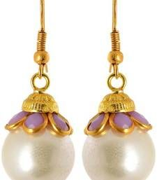 Fashion Earring for girl, White danglers-drops, Gift for girl, freedom earring, artificial jewellery, top in jaipur, best choice, new fashion Abuot Product:-        Brand:-      Waama Jewels Model No.:-    wje2017 Jewellery Type:-  Earring Color:-      White Ideal for:-    Women Shap:-       Dangle & Drop Metal:-      Brass Ocassion:-     Anniversary