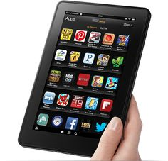"Kindle Fire Tablet 7 "" LCD Display, Wi-Fi, 8GB"""