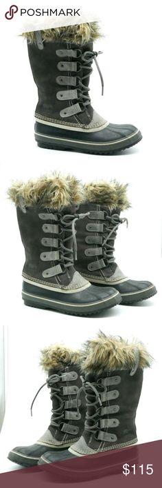 d27adb42f7440 Sorel Winter Boots Size 11 Joan Of Arctic Gray Sorel Women s Winter Boots  Size 11 Joan