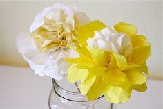 paper wedding flowers