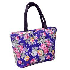 Hot Sale Fashion Floral Design Female Mini Handbags Quality Canvas Printing  Small Casual Tote Bag Women s Shopping Bag Wholesale - FASHION BookFace ... 2adbf9abed