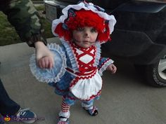 Raggedy Ann - Halloween Costume Contest via @costume_works