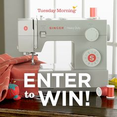 Singer 4443 Sewing Machine Review & Giveaway