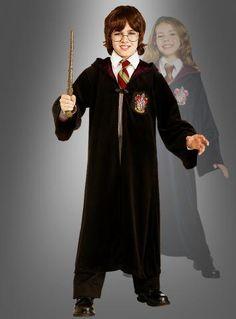 Magier Kinderkostüm mit Hut Krawatte und Zauberstab