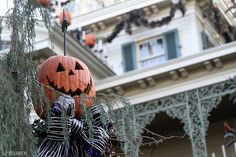The Haunted Mansion at Halloween Time