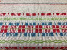 Swedish Monksbelt on the loom at Vävstuga. Fun to weave!